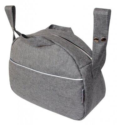 Taška ZITA  OXFORD - středně šedá