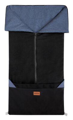 Fusak 2v1 FANDA černá + modrý melír