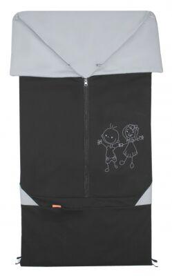 Fusak 2v1 BARY černý + šedý