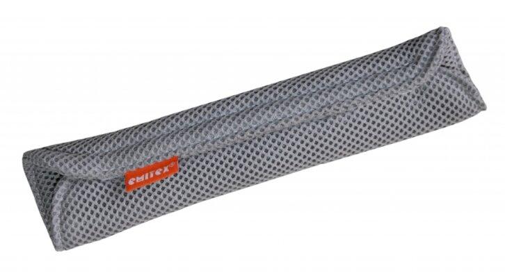 Polstrování velké na pás autosesačky - 3D šedá